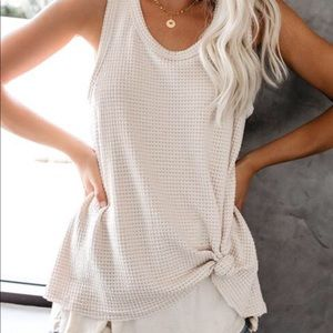 Vici layered tank top